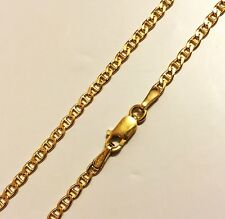 "18k solid yellow gold(2mm)Anchor chain(up to 32""inch)"
