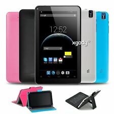 XGODY Brand New 9'' Android Tablet PC Quad Core WiFi Webcame 8GB/16GB Bluetooth