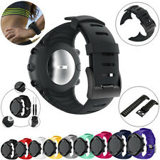 Silicone Watchband Wrist Band Strap +Tools Link Bracelet For Suunto Core Sport