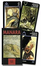 MILO MANARA, LO SCARABEO STAFF - Erotic Tarot of Manara - CARDS ** Brand New **