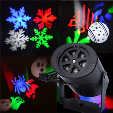 Outdoor Multi-color Snowflake LED Landscape Laser Light Projector For Christmas