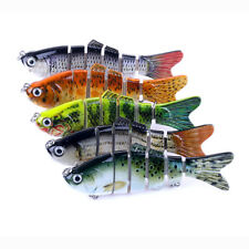 6 Segment Fishing Hooks Tackle Swimbait Lures Crankbaits Hard Bait Fishing Lures