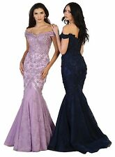 TheDressOutlet Long Prom Dress Homecoming Formal Wedding Gown