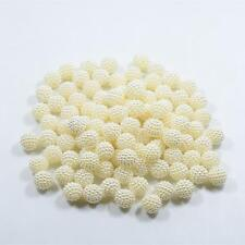 100pcs Imitation Pearl Beads Round Bayberry Beads Loose Spacer Beads DIY Craft