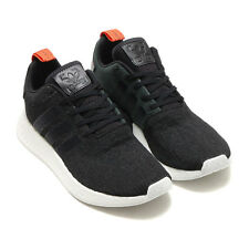 ADIDAS NMD R2 SHOES CORE BLACK CG3384 US MENS SZ 4-11 kanye