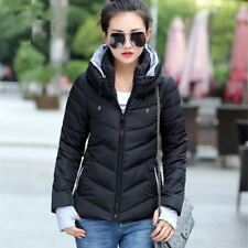 Black Color Cotton Material Winter Style Full Sleeve Outwear Jacket for Women