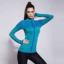 Solid Color Stand Collar Long Sleeve Zipper Closure Casual Jacket For Women