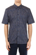 BALENCIAGA New Men Cotton Geometric Printed shirt Made ITALY