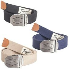 Frankie's Garage 3 x Belt metal quick release 3 Pieces Belt & buckle