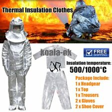 Aluminum Foil Fire Protected Clothes Thermal Insulation Clothing Full Set  GT