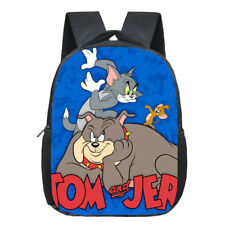 Tom And Jerry Child School Bag kindergarten School Class Shoulders Backpack
