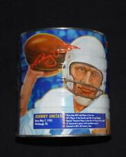 JOHNNY UNITAS MAXWELL HOUSE (SEALED) COLLECTIBLE 2LB COFFEE CAN FOOTBALL HOFer