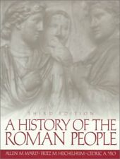 ALLEN M. WARD - A History of the Roman People (3rd ** Very Good Condition **