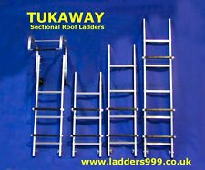 Roof Hook+Roof Ladder sections (Sectional Cat Ladder) with FREE delivery