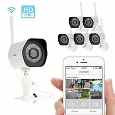 Zmodo Smart Wireless Security Cameras HD Indoor/Outdoor WiFi IP w/ Night Vision