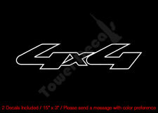 OFF ROAD 4X4  BED SIDE VINYL DECALS (6) FITS: CHEVY GMC DODGE FORD NISSAN TOYOTA