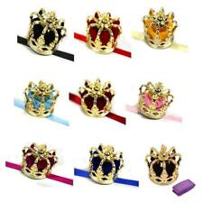 Mini Queen Crown Tiara Hat Costume Headwear Women Lady Party Costume