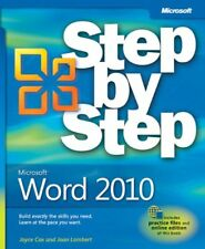 JOYCE COX - Microsoft Word 2010 (Step by Step) - ** Very Good Condition **