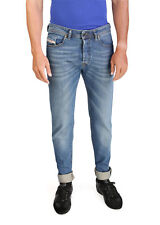 Diesel Buster Men's Regular Slim-Tapered Denim Jeans 0837I