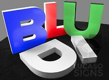 RIGID FOAM SIGN LETTERS 3d OUTDOOR CUSTOM BUSINESS SIGNS