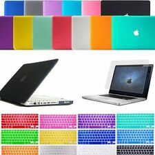 "Laptop Rubberized Hard Case Keyboard Skin Cover Fr MacBook Air 11"" / 13"" Pro 15"""
