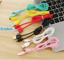 1M/2M/3M Micro USB Data Sync Fast Charger Charging Watermark Cable For Samsung