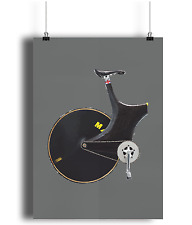 Lotus Sport Chris boardman one hour Record  bicycle prints illustration  cycling