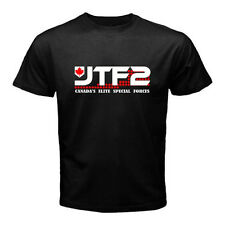 JTF2 Canadian Special Ops Force Army Military Men's Black T-Shirt Size S to 2XL
