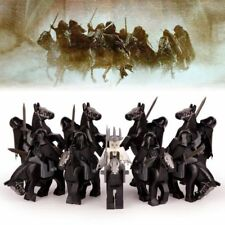 The Lord of the Rings 9 Ringwraiths, Nazgul, Riders Custom mini figures