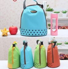 Thermal Insulated Cooler Lunch Bag for School Lunch Box Carry Lunch Tote Bag