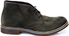Scarpa Uomo Mocassino Verde Pelle Trussardi Shoes Men Leather Green