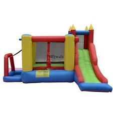 Kids Princess Bounce House Girls Jumper Castle Bouncer Inflatable without Blower