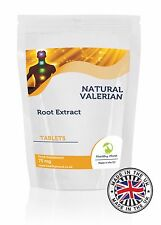Valeriana Root Extract Concentrate Herb Supplement 30/60/90/120/180/250 TABLETS