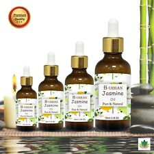 JASMINE OIL 100% NATURAL PURE UNDILUTED UNCUT ESSENTIAL OIL 10ML TO 100ML