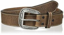 Ariat Men's Arrow Stitch Circle Concho Belt - Choose SZ/Color