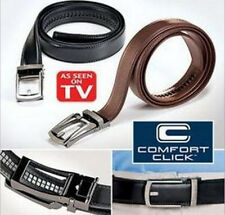 Fashion Men's PU Belt Comfort Click Belt Automatic Buckle As Seen on TV