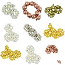 10 Set Powerful Two Parts Magnetic Round Clasps DIY Necklace Bracelet Findings
