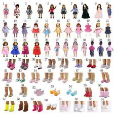 18inch Dolls Dress/Skirt/Bag/Shoes/Boots for American Girl Our Generation Dolls