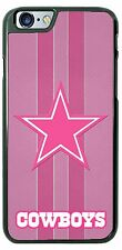 Pink Dallas Cowboys Tread Phone Case Cover for iPhone 7 6s Samsung s7 LG G5 HTC