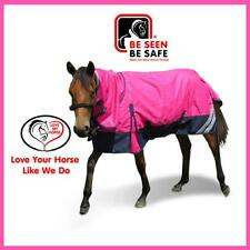 LOVE MY HORSE Mini 3'0 - 4'6 1200D 300g Fill Ripstop Waterproof Combo Rug Pink