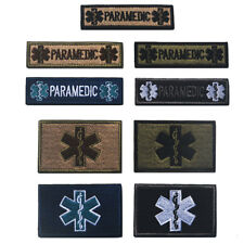 Star of Life Rod of Asclepius Paramedic Tactical Medical EMS EMT Snake OPS Patch