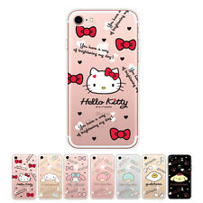 Hello Kitty Icon Cutie Jelly Protect Bumper Cover Case For Apple iPhone 5 / 5S