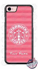 Starbucks Pink Phone Case Cover personalized for Samsung s8 PLUS iPhone LG etc