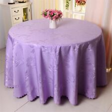 Hotel Wedding Party Decor Banquet Polyester Fabric Table Cover Cloth