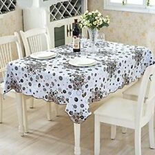 Home Square Shape New Style Waterproof Decorative Table Cover Cloth