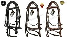 HIGH QUALITY LEATHER BRIDLE. HUNTER OR COMFORT BRIDLE