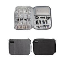 Electronics Organizer Bag Travel Storage Carrying Case for Cable Earphones