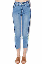 New ZIGGY Womens Meet My Mum Jeans Acid Lines