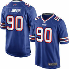 NEW AUTHENTIC Nike Shaq Lawson Buffalo Bills Home Game Jersey Factory Sealed