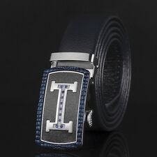 Fashion Luxury H New Mens Belt Automatic Buckle Genuine Leather Waistband Strap